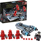 WOMEN Star Wars Sith Troopers Battle Pack 75266 Stormtrooper Speeder Kit de construcción de vehículos, Nuevo 2021 (105 Piezas)