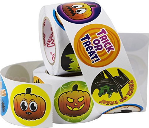 Kangaroo's Halloween Spooky Stickers 500 Pack