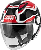 Casco Hombre 12.3 Stratos Shade Moto Givi Helmet Jet Talla Xl H123FSDBR61