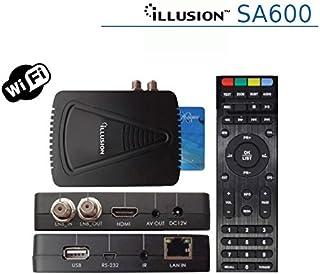Illusion - Sa600 con conexión ethernet y WiFi, Alta