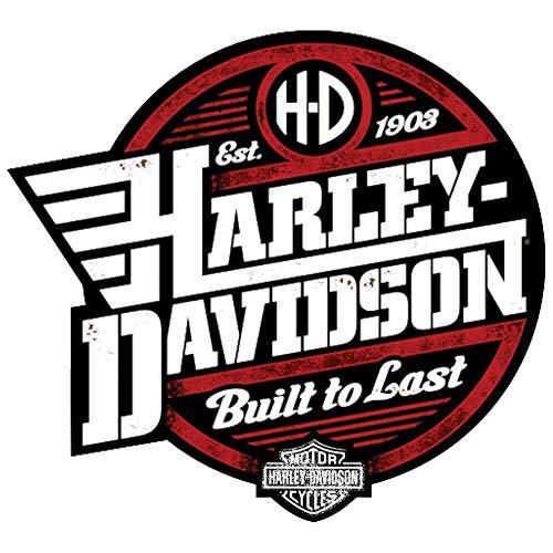 Retro Aufkleber für Helme Harley Davidson Old