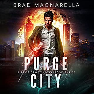 Purge City audiobook cover art