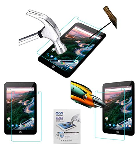 Acm Tempered Glass Screenguard Compatible with Hp Pro 8 1gq27aa Screen Guard Scratch Protector