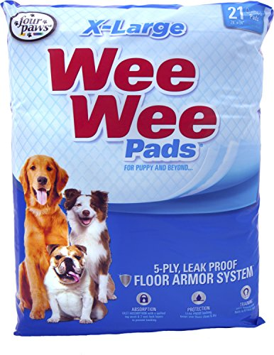 Four Paws - Container-Wee Wee Pads Xlarge/21 Pk