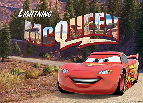 AG Design Cars Disney, fleece fotobehang kinderkamer-1-delig, meerkleurig, 0,1 x 160 x 110 cm