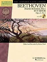 Beethoven: Sonata No. 1 in F Minor, Opus 2, No. 1 (Hal Leonard Piano Library: Schirmer Performance Editions)