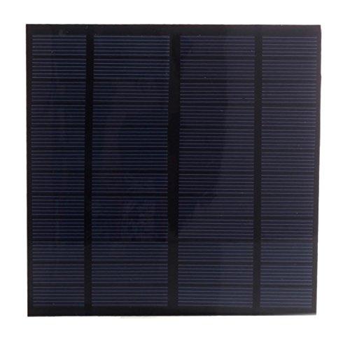 Nuzamas - Mini panneau solaire pour camping, chargeur de batterie 3 W 12 V 250 ma