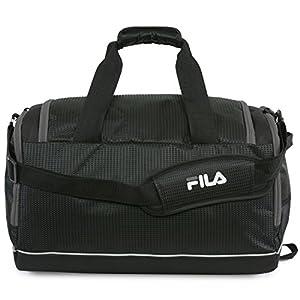 51aA3LyXizL. SS300  - Fila Cypress Small Sport Duffel Bag, Bolsa de lona Unisex Adulto