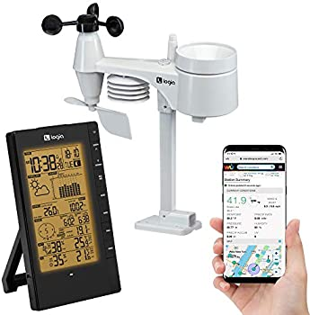 Logia 5-in-1 Indoor/Outdoor Weather Station