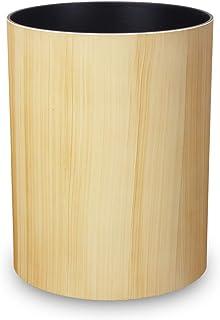 タツクラフト 木目 塗り ゴミ箱 ナチュラル ウッド ボックス S 3.4L イエロー メープル ごみ箱 おしゃれ リビング 小 キッチン ダストボックス 家具 ペール くずいれ 小さい ふたなし 木目調 杢目 杢目調 チーク オーク ウォール...