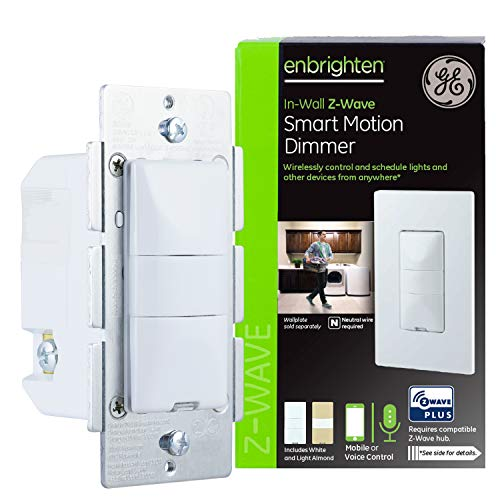 GE Enbrighten Z-Wave Plus Smart Motion Light Dimmer $50.60