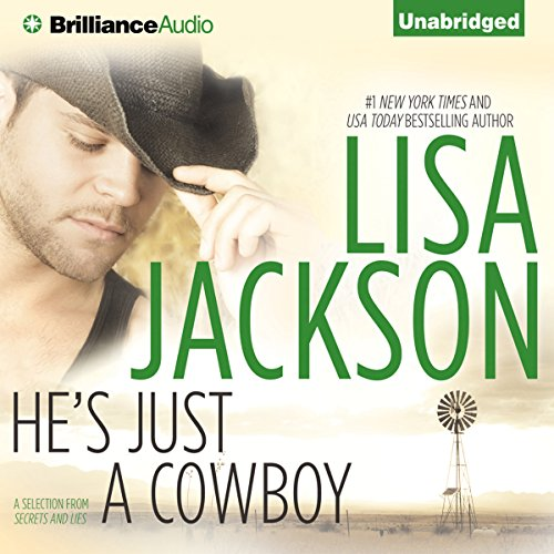 He's Just a Cowboy audiobook cover art