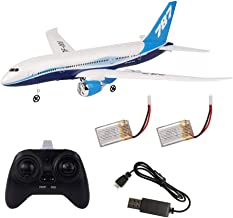 DIY RC Airplane Set Boeing 787 Model Foam EPP RC Drone 2.4G 3 Channel Remote Control Airplane Glider Aircraft, Best Gift for Kids and RC Plane Lovers