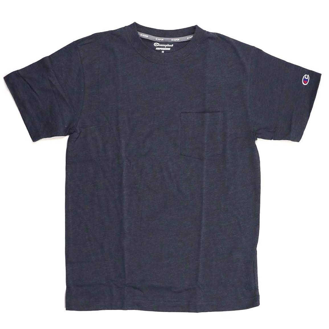 曲がった有用尾(チャンピオン) Champion トレーニングシリーズ VAPOR 速乾?べた付き軽減?軽量 Tシャツ ポケットTシャツ メンズ レディース C3-PS323