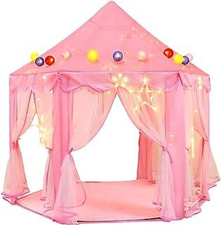 الأميرة القلعة تلعب خيام للفتيات، لعب الأطفال البيت الوردي القلعة، العب الخيام لعبة للأطفال ألعاب داخلية وخارجية