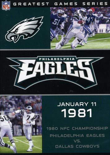 Price comparison product image NFL: Greatest Games - Philadelphia Eagles 1980 NFC Championship Game