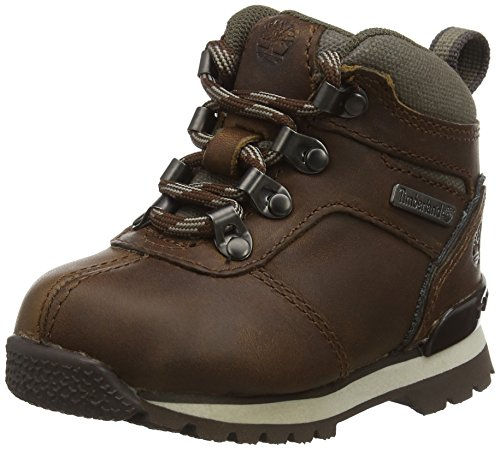 Timberland Euro Hiker, Chaussures de Randonnée Basses Mixte Enfant, Marron (Brown D50), 37 EU