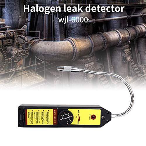 WJL-6000 Detector de fugas de freón Detector de fugas Halógeno Detector de fugas de gas refrigerante HVAC R22 R410A R134A R1234YF CFCs HFC Detector de alta precisión