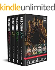 Guardian Hostage Rescue Specialists Boxed Set, Books 1-4: A brotherhood of men who will do whatever it takes to rescue you.