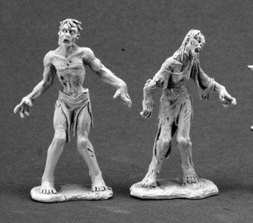 Zombies (2) Dark Heaven Legends Miniature by Reaper