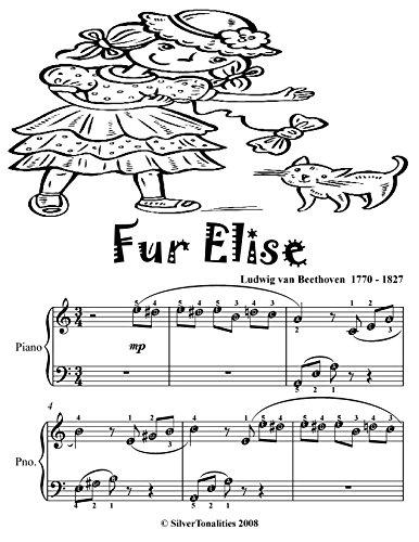Fur Elise Easy Piano Sheet Music Tadpole Edition