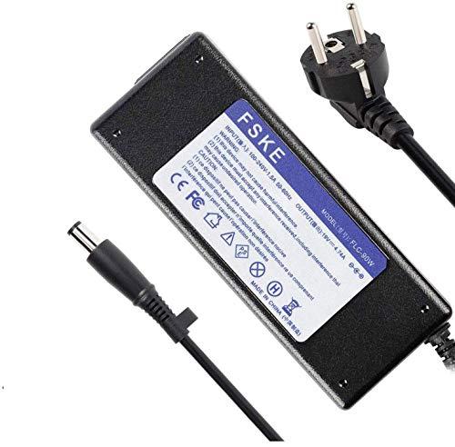 FSKE 90W 19V 4.74A Laptop Netzteil Ladegerät für HP 463958-001 609939-001 9470M 8460P 6930P 8470P DV6 DV4 DV3 6710 840 G1,2570P 2540P 6470B 8510 2560P AC Adapter,Notebook EUR Power Supply,7.4 * 5.0mm