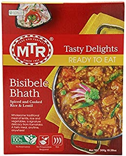 MTR Bisibelebath - Spiced Rice & Lentil Dish (Ready-to-Eat) 300 gm