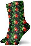 tyui7 Vintage Sea Turtle Portugal Flag Calcetines Coloridos Cool Sport Running Medias para Hombres Mujeres