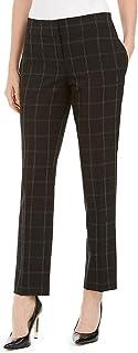 Kasper Womens Slim Mid Rise Dress Pants