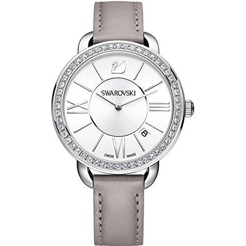 Swarovski Reloj analogico para Mujer de Cuarzo con Correa en Piel 5182191