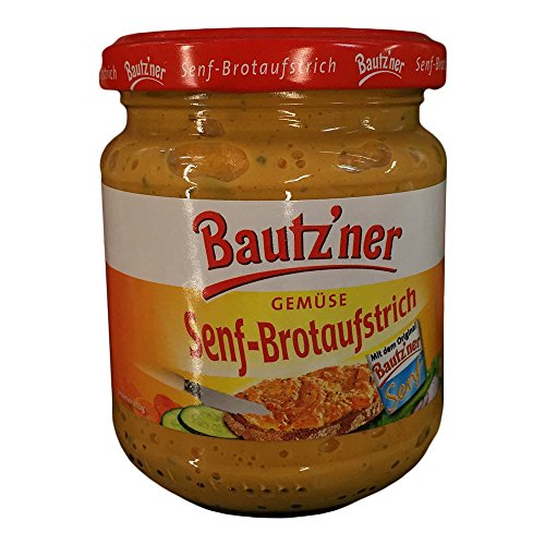 Bautz'ner - Senf-Brotaufstrich Gemüse - 200ml