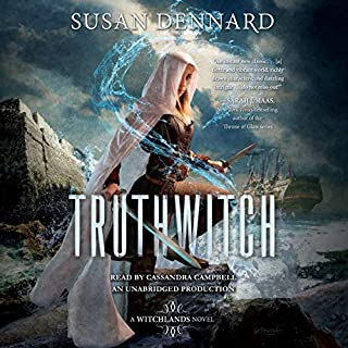 Truthwitch     A Witchlands Novel              De :                                                                                                                                 Susan Dennard                               Lu par :                                                                                                                                 Cassandra Campbell                      Durée : 14 h et 42 min     1 notation     Global 5,0