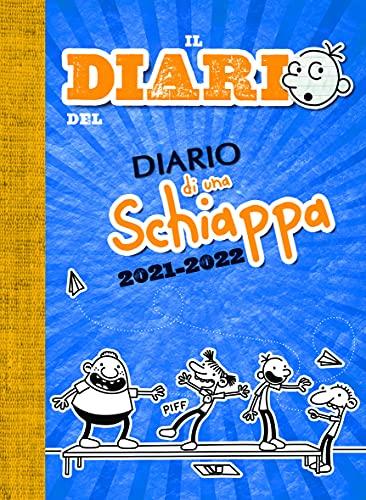 Diario di una Schiappa - Diario 2021/2022 Datato e Imbottito - 14,2X19,3 cm