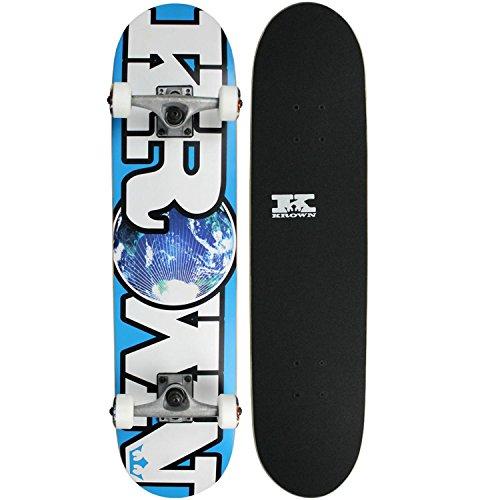 Krown World Rookie Complete Skateboard (Blue)