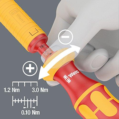 Wera - 5074750001 VDE Adjustable Torque Screwdrivers, 1.2-3.0Nm