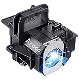 Araca ELPLP49 /V13H010L49 Replacement Projector Lamp for Epson PowerLite HC 8350 HC 8700UB 8500UB 7500UB 8345 6500UB 9500UB 9700UB H373A H336A H291A Economical