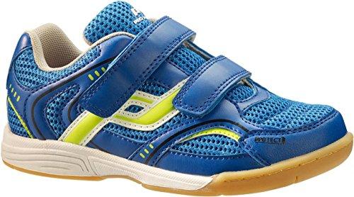 PRO TOUCH Indoor-Schuh Courtplayer Klett Jr. für Kinder, blau/gelb,28