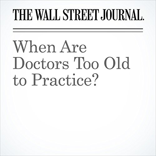 When Are Doctors Too Old to Practice? copertina
