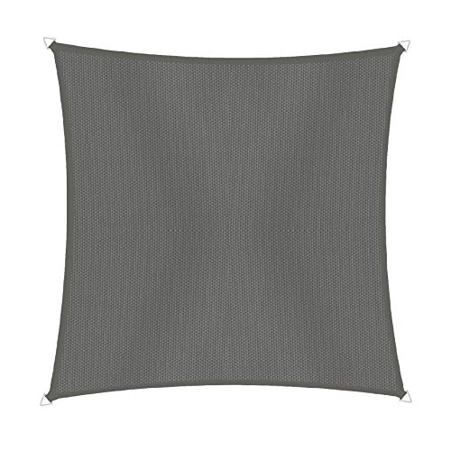 Windhager 10726 Cannes Voile d'ombrage carré 3 x 3 m