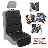 Autositzschoner Kindersitz Autositzauflage Kindersitzunterlage Rutschfeste Unterlage ISOFIX passende Autositzschoner wasserdicht