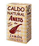 Aneto - Caldo natural de jamón 100% natural, 1l