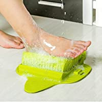[ウェルマイヤー/Wellmaier ] Beautiful Foot Care Soles Brush Plantar callus remover Foot Massage/美しい 足のケアの開始 ウェルマイヤー 足ブラシ 足の角質除去 足のマッサージ(Green Color)(海外直送品)