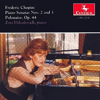 Chopin, F.: Piano Sonatas Nos. 2 and 3 / Polonaise No. 5