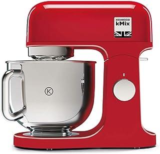 Kenwood KMX750AR amasadora planetaria Kitchen Machine kMix, Robot de cocina Mixer, 1000 W, 5 litros, acero, plástico, rojo