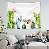 mmzki Tapiz de Toalla de Playa Flor de árbol de Cactus nórdico 12 150x100cm