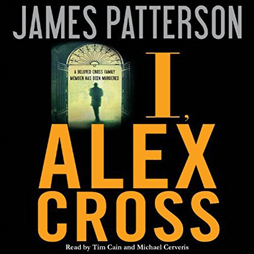 I, Alex Cross audiobook cover art