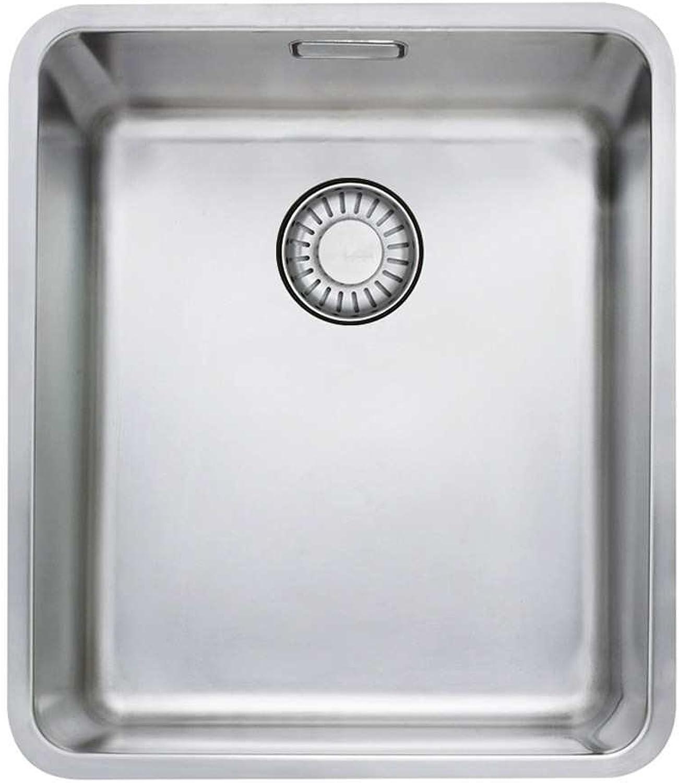 Franke Kubus KBX 110-34 Edelstahl-Spüle glatt Unterbau Küchenspüle Spülbecken