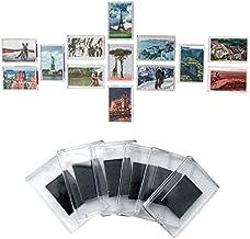Kurtzy Cornici Foto Magnetiche per Frigo Magneti Frigo in Acrilico Trasparente con Inserto Foto Dimensioni 7 x4.5cm - Cornice Magnetica Perfetta per Foto di Famiglia (50 Pezzi)