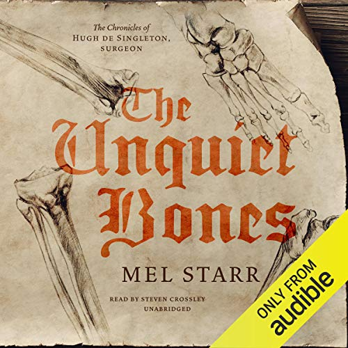 The Unquiet Bones audiobook cover art