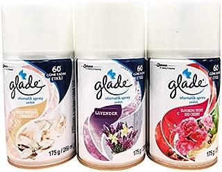 GLADE Automatic Spray Air Freshener Refill - 269 ml Each - Combo Set - 3 Refills